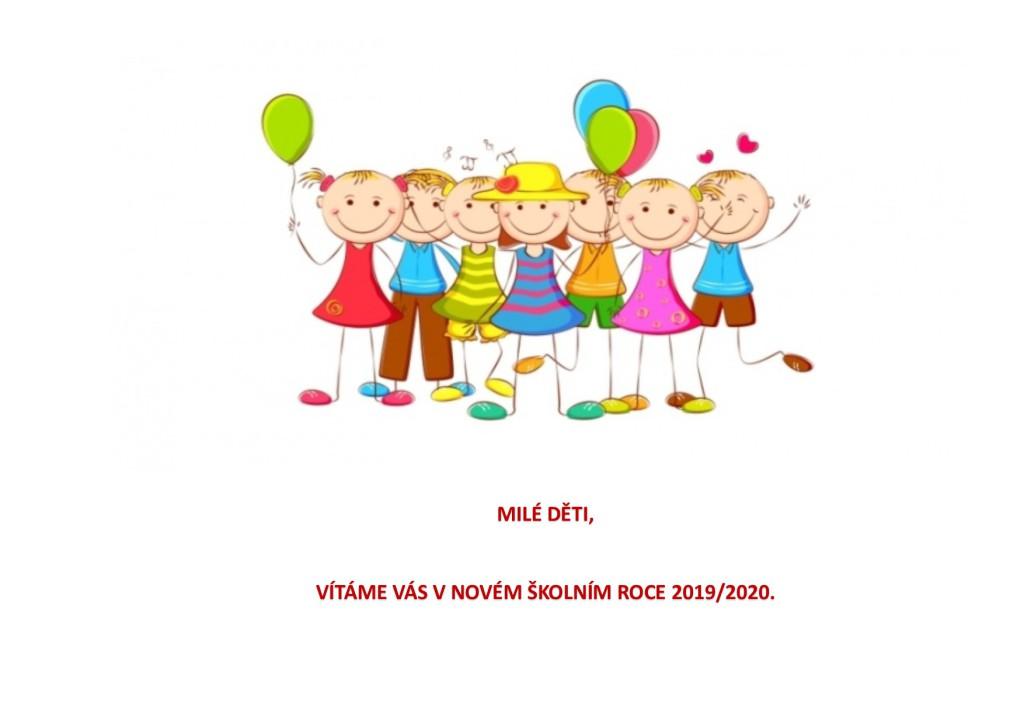 Uvítání dětí 2019-2020